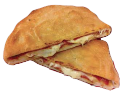 Pepperoni and Cheese Calzone